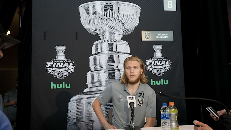 William Karlsson är redo för Stanley Cup-final.