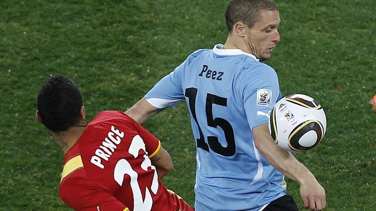 Så tog sig Uruguay i semifinal - Fotboll  cde30bd5b08eb
