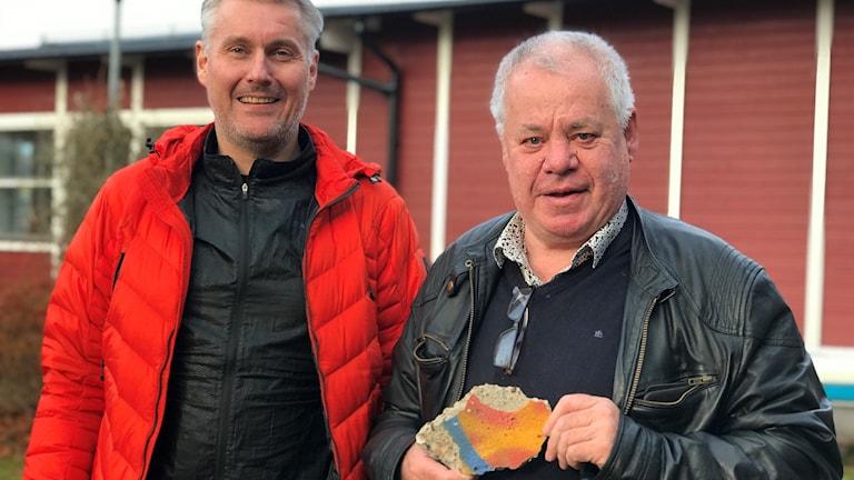 Niklas Möllerstedt och Nisse Schölin
