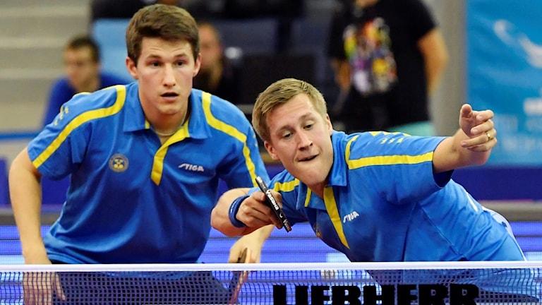 Kristian Karlsson och Mattias Karlsson fortsätter att imponera.