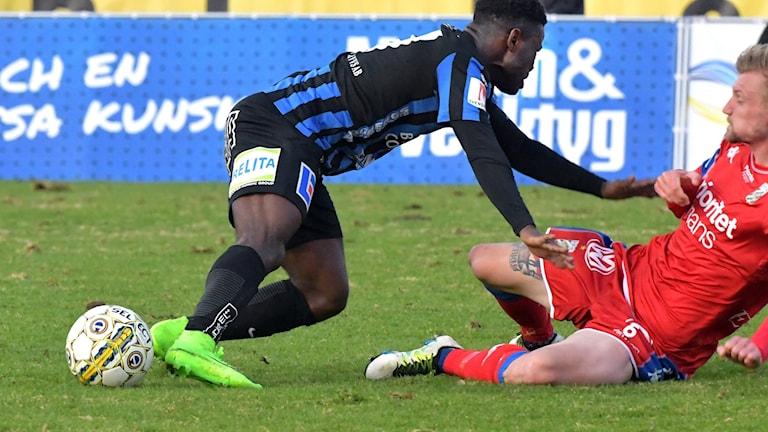 Planen fick stor kritik efter Sirius hemmamatch mot IFK Göteborg.