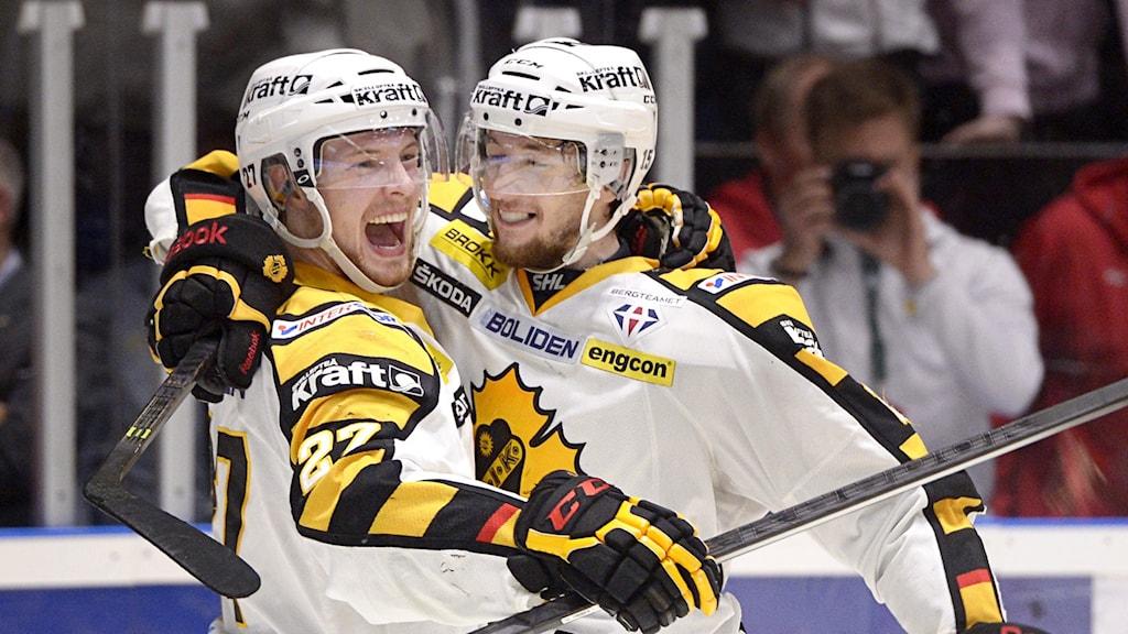 Melker Karlsson i Skellefteåtröjan.