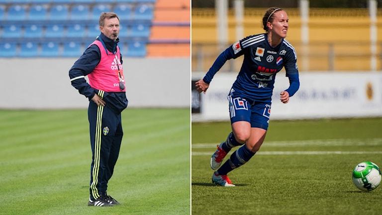 Förbundskapten Peter Gerhardsson har tagit ut Julia Roddar till VM-kvalmatcherna.