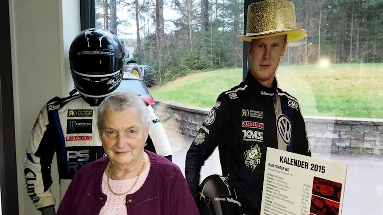 Johan Kristofferssons karriär följs noga av farmor Gerd.