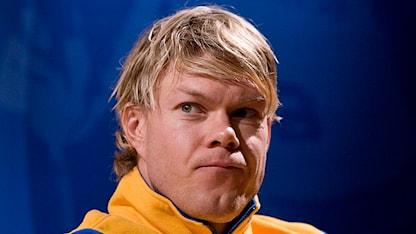 Skidåkaren Mathias Fredriksson. Foto: Anders Wiklund/Scanpix