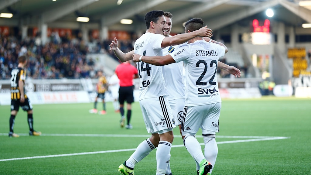 AIK hade målshow mot Häcken.