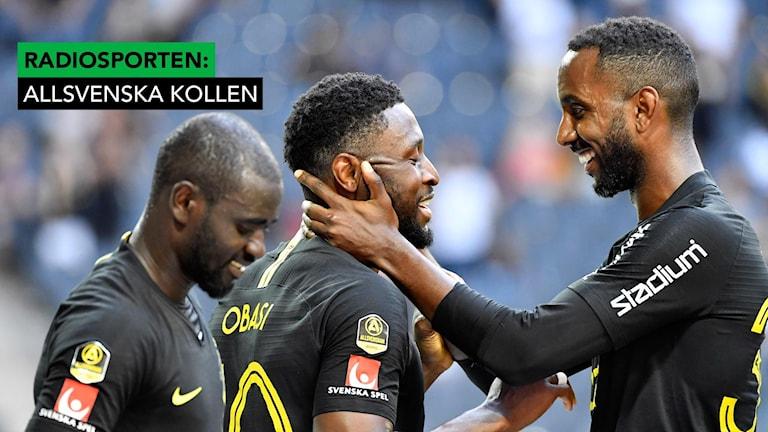 Obasi bakom AIK-vinst mot Helsingborg.