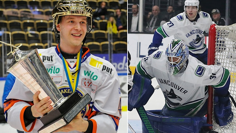 Anders Nilsson berättar att det är stora förväntningar på Elias Pettersson i Vancouver.