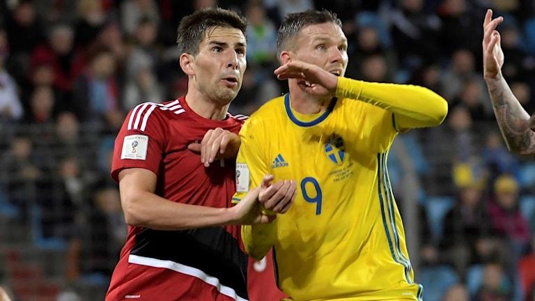 Sverige möter Luxemburg i VM-kvalet.