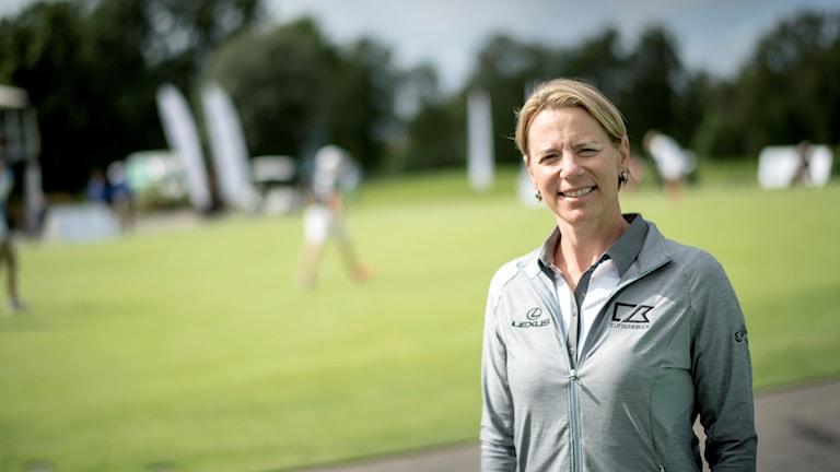 Annika Sörenstam leder det europeiska laget i Solheim cup.
