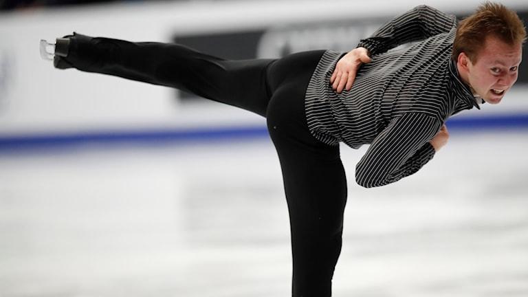 Alexander Majorov imponerande i friåkningen.
