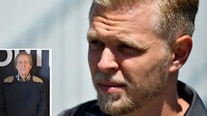 Fredrik af Petersens skräms av Kevin Magnussens inställning.
