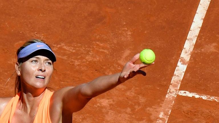 Maria Sjarapova kan fortfarande nå Wimbledon via ranking.