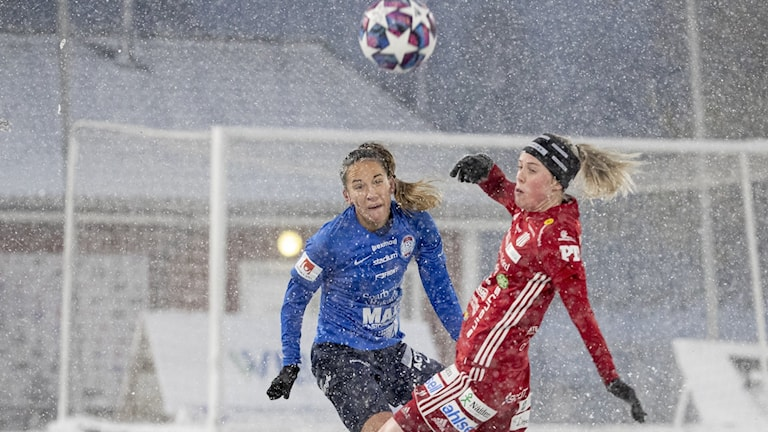 Eskilstunas Anna Oscarsson och Piteås Cecilia Edlund