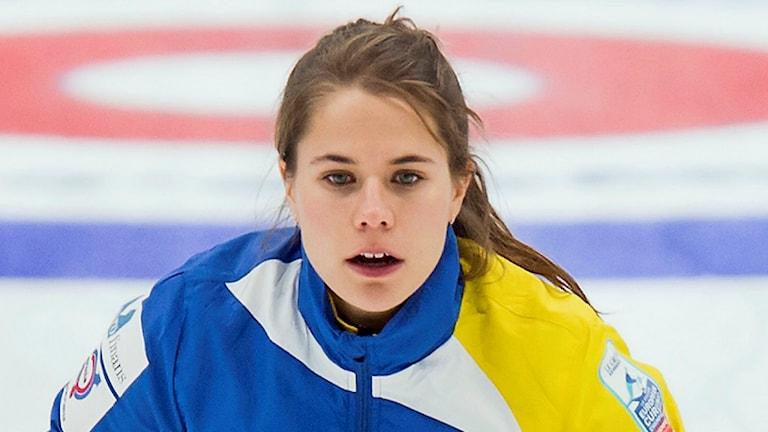 Sveriges skipper Anna Hasselborg. Arkivbild.