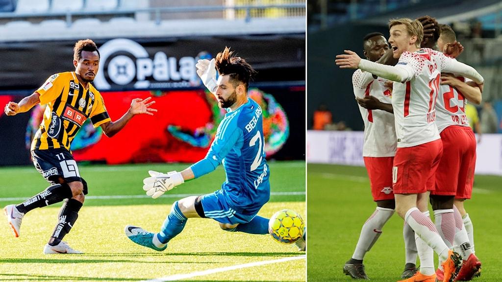 BK Häcken ställs mot RB Leipzig i Europa League-kvalet.
