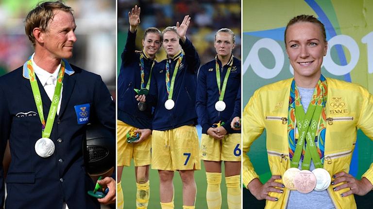 Peder Fredricson, fotbollslandslaget och Sarah Sjöström