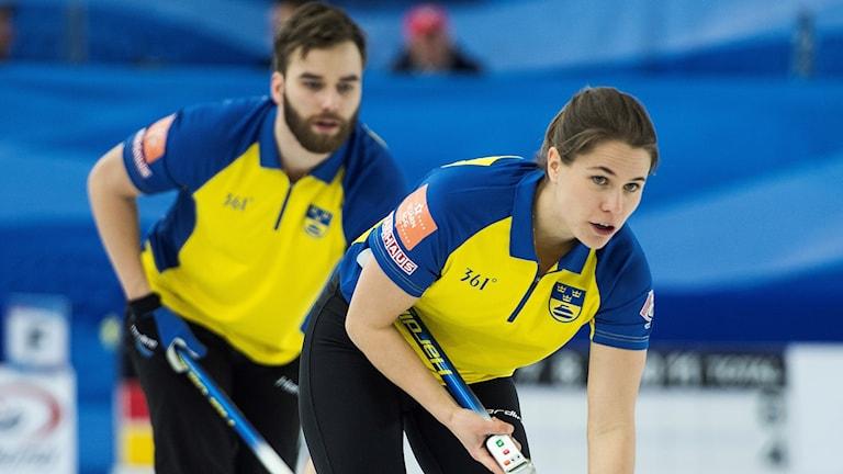 Oskar Eriksson och Anna Hasselborg