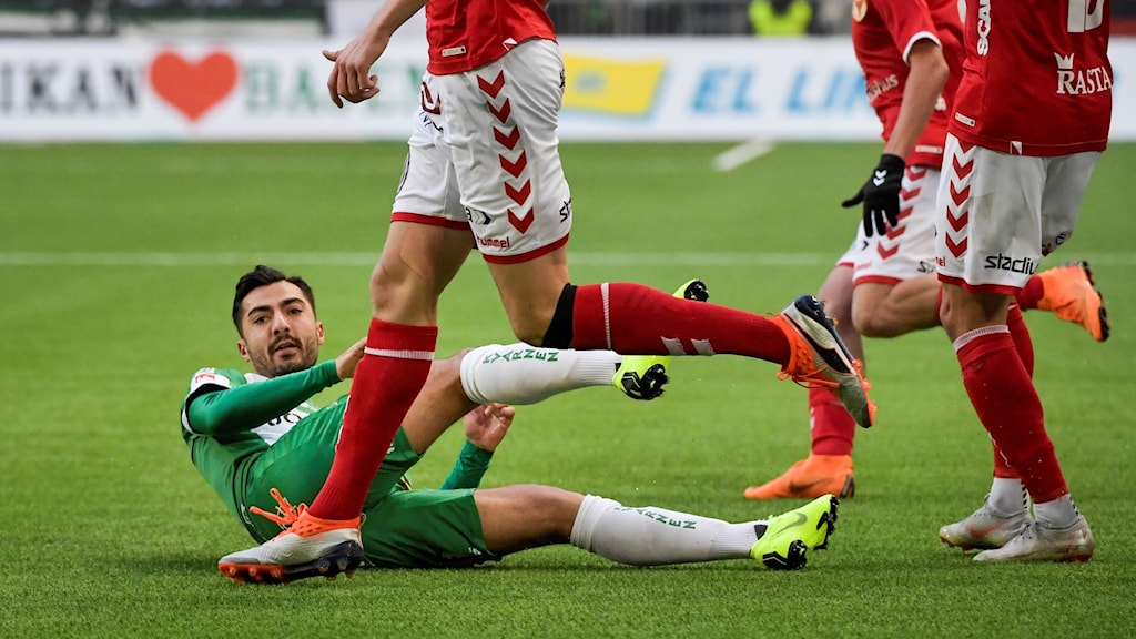 Jiloan Hamad och hans Hammarby fick kryss mot KFF.