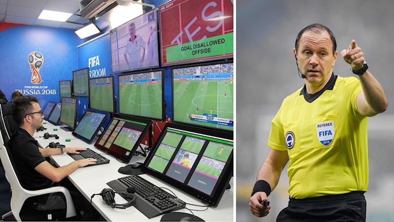 Fotbolls-VM i Ryssland blir det första mästerskapet som inför video assistant referee, videodomare.
