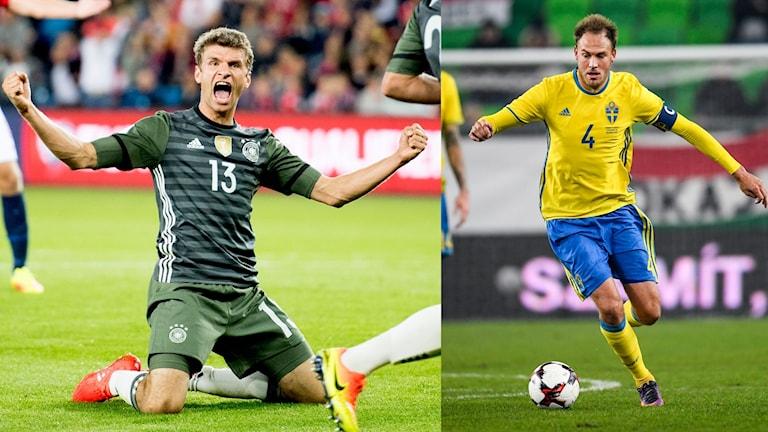 Tyskland och Sverige möts bland annat i grupp F.