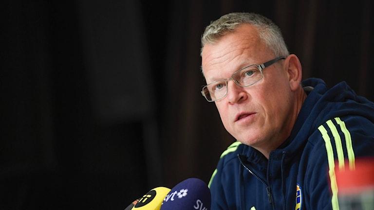 Inför VM-kvalet har Janne Andersson lite att fundera över.
