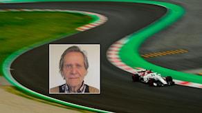 Fredrik af Petersens och Marcus Ericsson i F1. Foto SR och TT