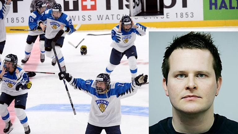 Christoffer Herberts rapporterar om ett stolt Finland.