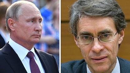 Human Right Watchs chef Ken Roth anser att alla höjdare borde tänka efter innan de går på ceremonier där Vladimir Putin är.