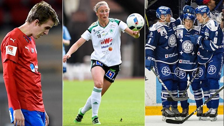 Helsingborg, Mallbacken och Leksand är tre av lagen som spelar denna söndag.