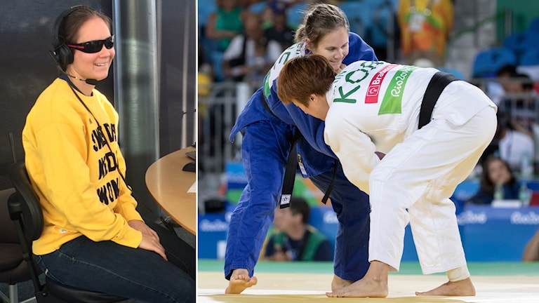 Den svenska judokan Nicolina Pernheim.
