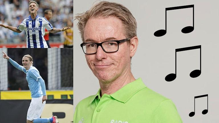 Bengt Skött förklarar hur bland annat Sören Rieks och Pawel Cibicki uttalas.