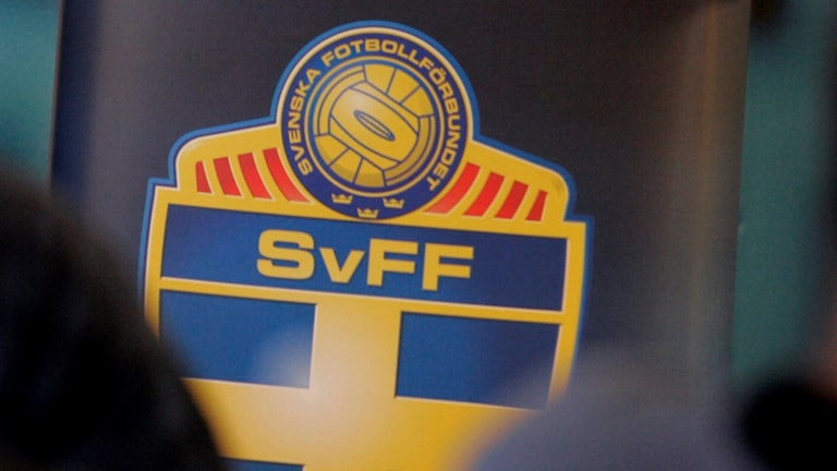 Svenska fotbollförbundets logga.