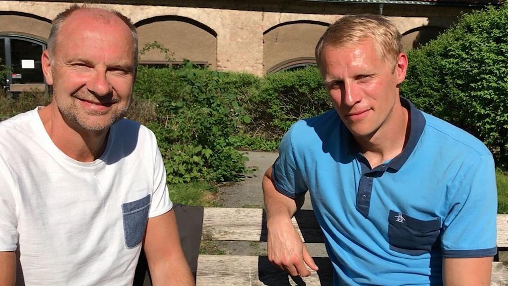 Håkan Mild och Richard Henriksson