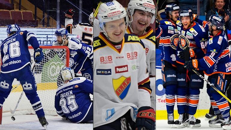 Leksand, Djurgården och Växjö var tre av lagen som spelade i kväll.