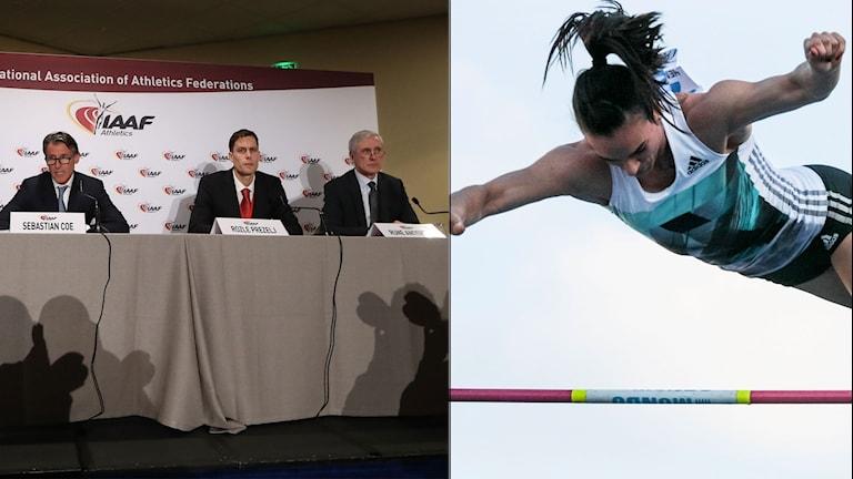 Jelena Isinbajeva får vänta på sin internationella comeback, då IAAF:s avstängning kvarstår.