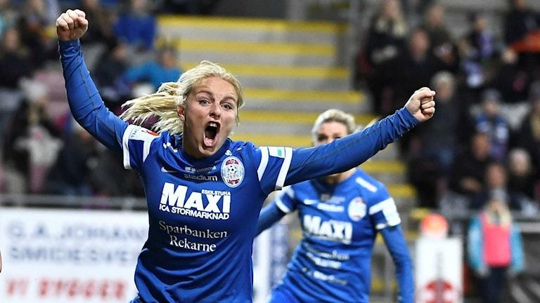 Eskilstunas Mimmi Larsson, arkivbild.