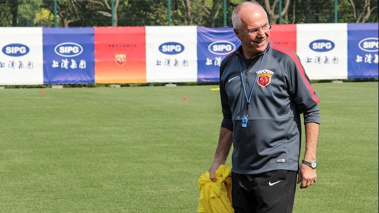 Sven-Göran Eriksson är klar för ännu en kinesisk klubb.