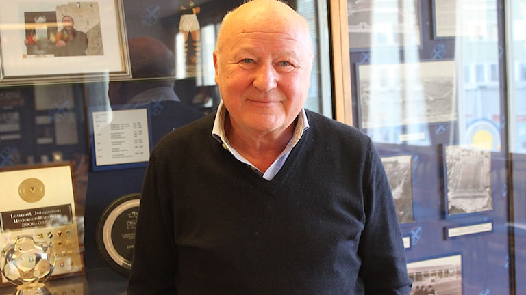 Lars-Åke Lagrell (2012). Foto: Robert Tennisberg/SR.