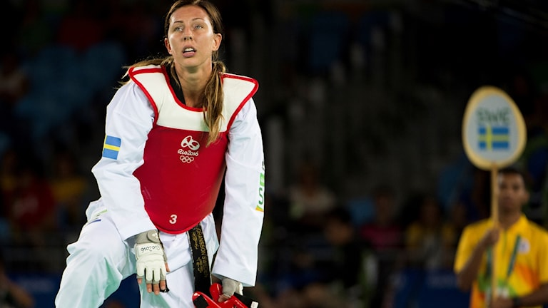 Elin Johansson förlorade mot uzbekiskan Nigra Tursunkulova i Rio-OS första omgång i taekwondo.