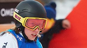 Arkivbild: Sandra Näslund under vinter-OS i Sydkorea 2018. Foto: Andreas Hillergren/TT.