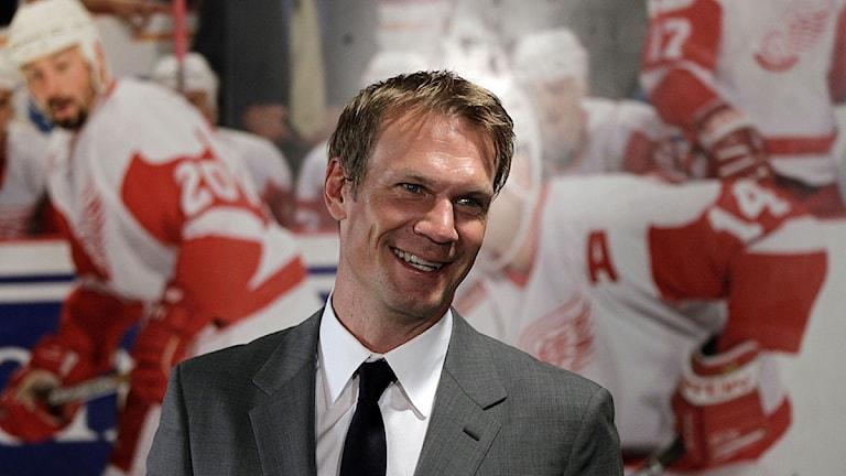 20120531 Nicklas Lidström. Foto: Carlos Osorio/Sveriges Radio