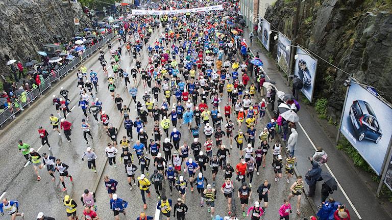 2012 Stockholm maraton. Foto: Maja Suslin / TT