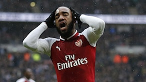 Arsenals alexandre lacazette