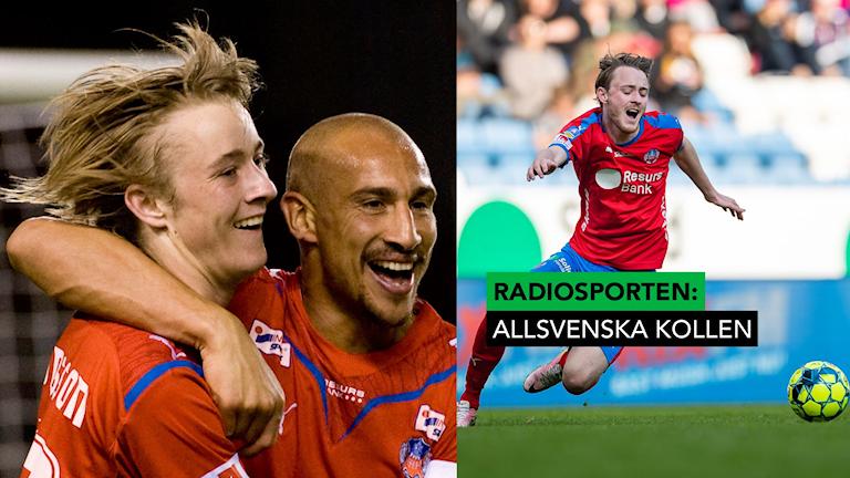 Allsvenska kollen Henrik Larsson Rasmus Jönsson. Foto: Jonas Ekströmer och Anders Bjurö/TT