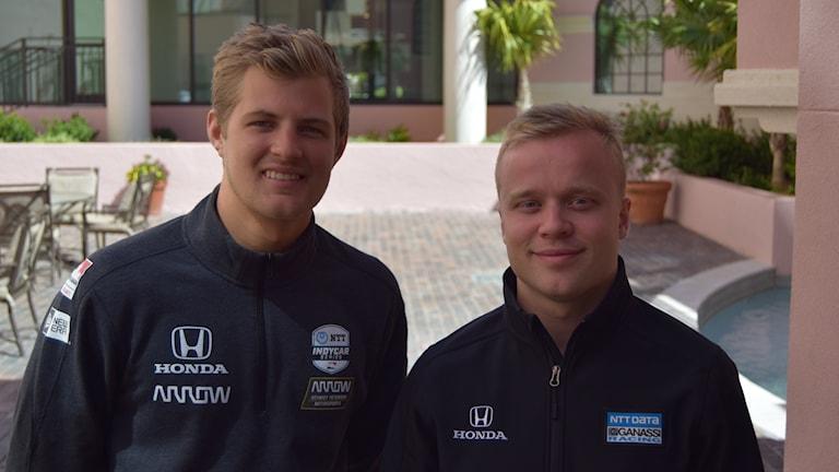 Marcus Ericsson och Felix Rosenqvist.