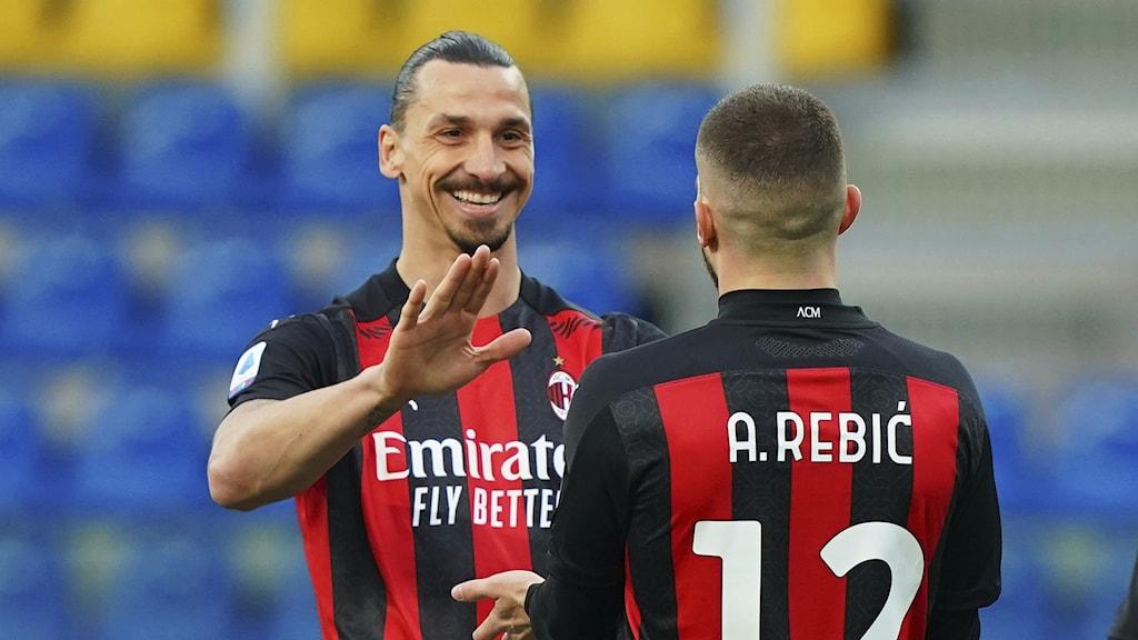Zlatan Ibrahimovic i Milan.