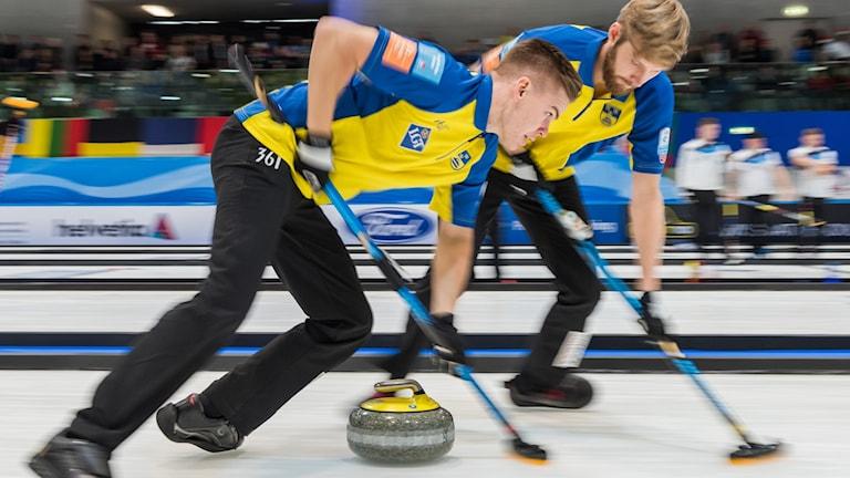 Svenska landslaget i Curling, bild WCF