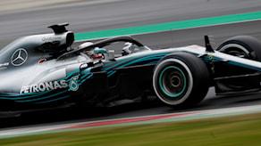 Lewis Hamilton, Mercedes. Foto: Francisco Seco/TT.