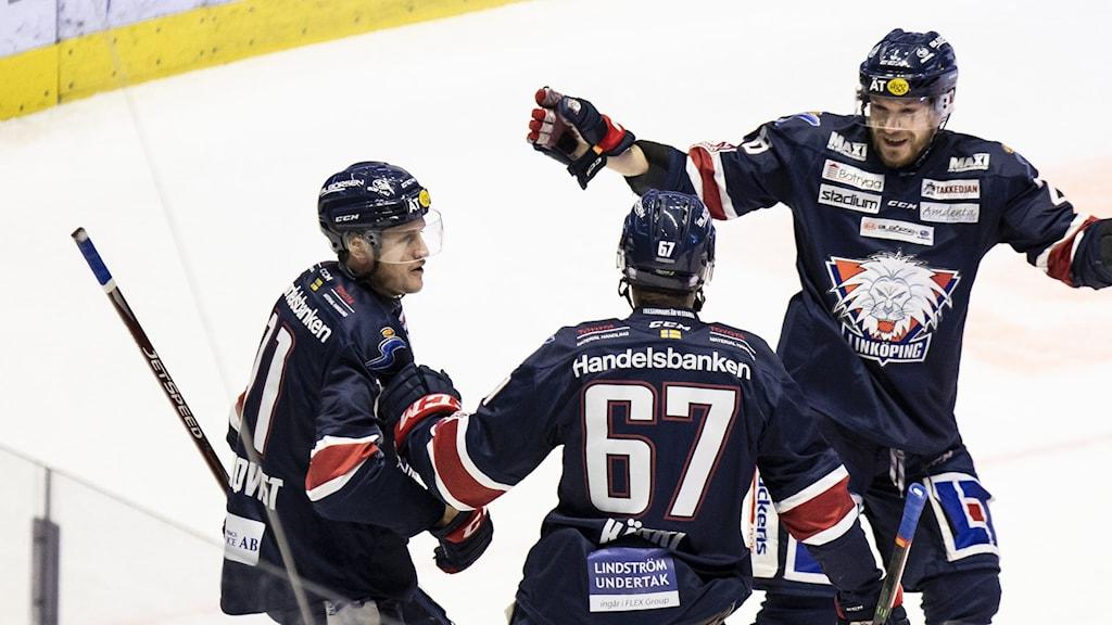 Linköpingsjubel efter första segern på tio matcher.